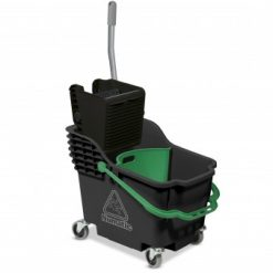 HB1812R Double Mop System Grey Hi-Bak c/w Green Handle